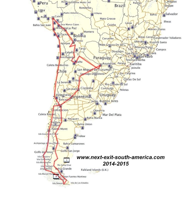 route komplett