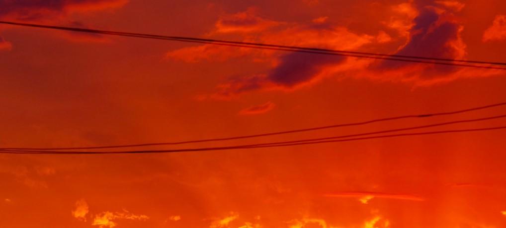 Sonnenuntergang Colonia Obligado
