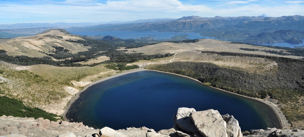 Auf dem Vulkan Batea Mahuid