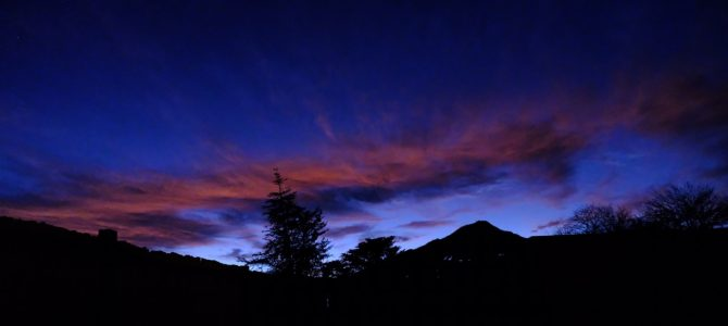 Nachthimmel über San Pedro