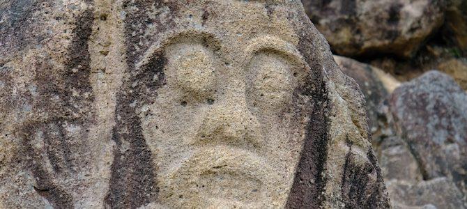 Prähistorische Schnitzereien