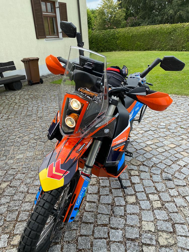 Umbau KTM 790 Adventure